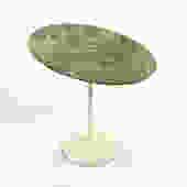 Eero Saarinen Tulip Side Table with Marble Top