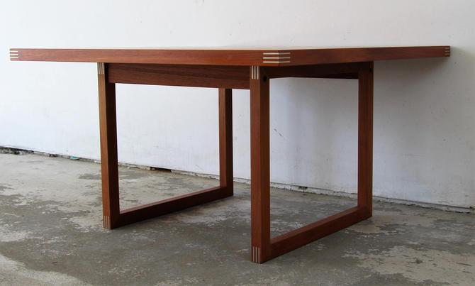 Danish Modern Mid Century Modern Teak Coffee Table by Rud Thygesen for Heltborg Møbler by WrightFindsinMCM