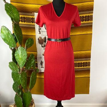 Vintage 1980s Plain Jane by ESPRIT T-Shirt Dress by DesertCactusVintage