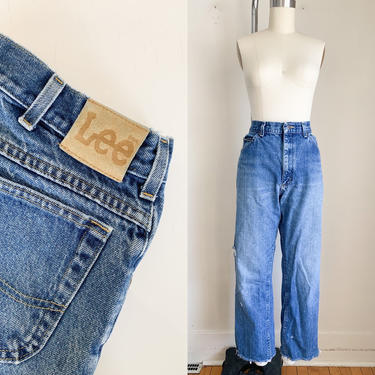 "Vintage 1980s Lee Jeans / 36/34"" / 33"" waist by MsTips"