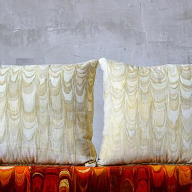 Jack Lenor Larsen 'Aurora' Pillows by FandFVintage