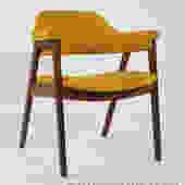 Walnut Armchair by Monarch