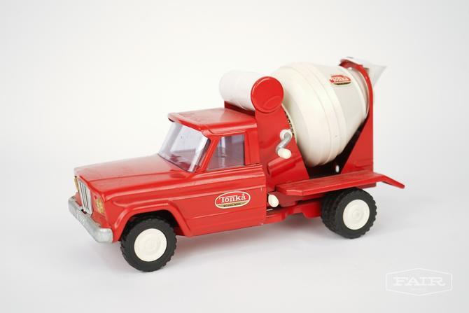 Tonka Jeep Cement Mixer Toy Truck