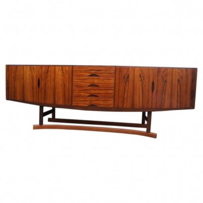Rosewood Sideboard, Model HB20, by Johannes Andersen for Hans Bech