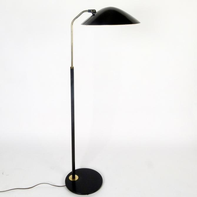 Adjustable Height Gerald Thurston Floor Lamp