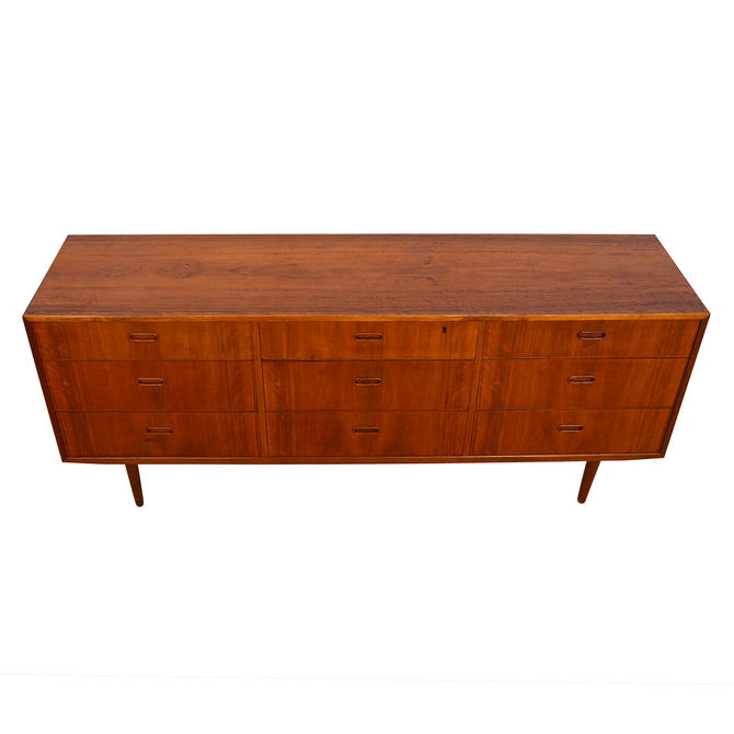 Danish Modern Falster Arne Vodder Teak Long Dresser