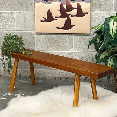 LOCAL PICKUP ONLY ———— Vintage Cohasset Colonial by Hagerty Bench by RetrospectVintage215