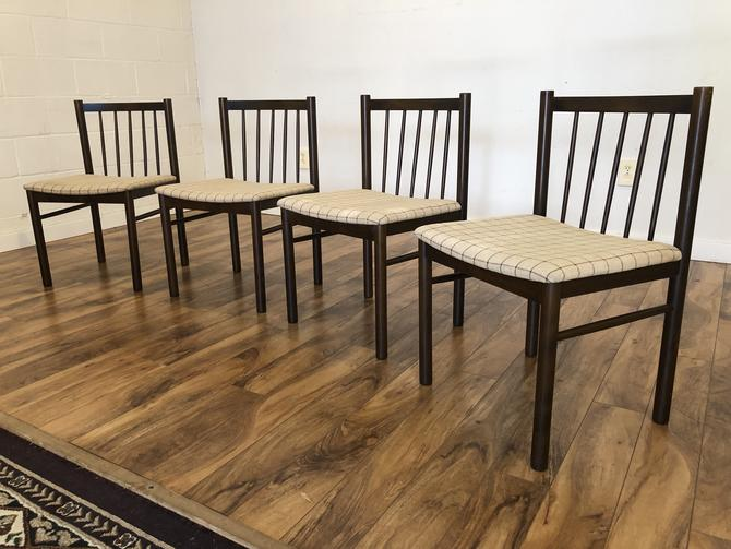 Farstrup Danish Modern Dining Chairs, Set of 4
