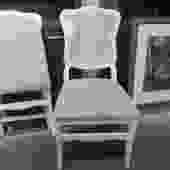 PAIR OF FRONTGATE FRENCH STYLE FOLDING CHAIRS