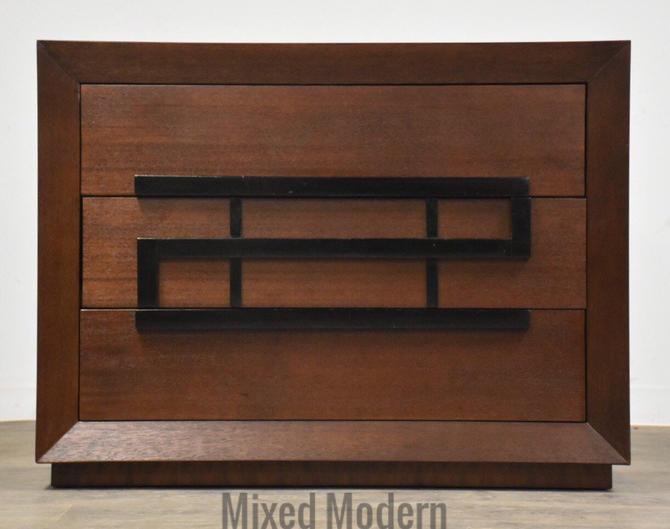 Maximilian for Karp Furniture Mahogany Mid Century Modern Dresser by mixedmodern1