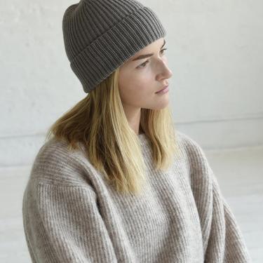Cashmere Knit Beanie