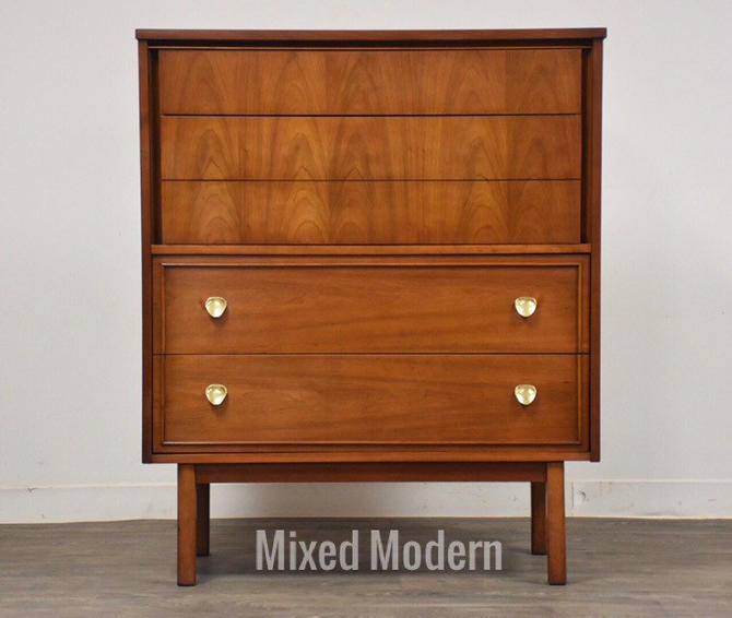 Cherry Mid Century Dresser by Dixie by mixedmodern1