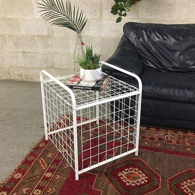 LOCAL PICKUP ONLY ----------- Vintage End Table by RetrospectVintage215