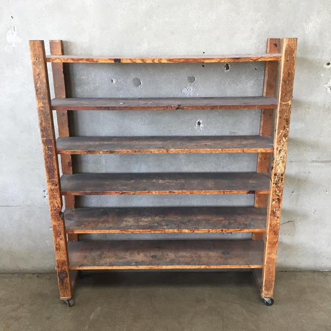Vintage Shoe Rack Shelf