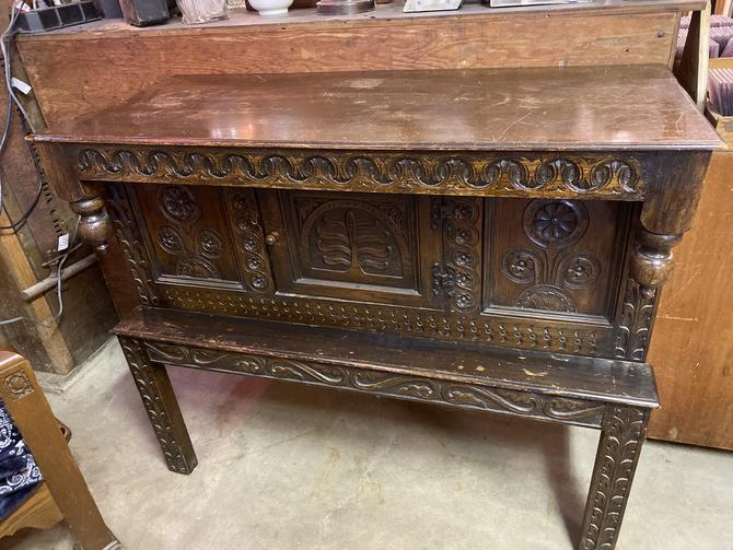 "19th Century English Buffet. 48""x21""x40"""