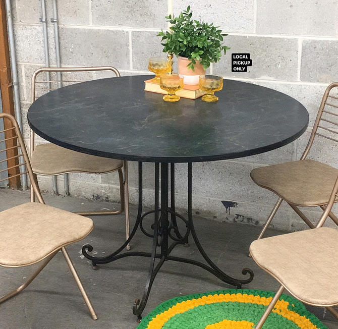 LOCAL PICKUP ONLY ———— Vintage Dining Table by RetrospectVintage215