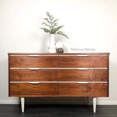 SOLD!  Mid Century Modern Dresser by ReNuvoDesign