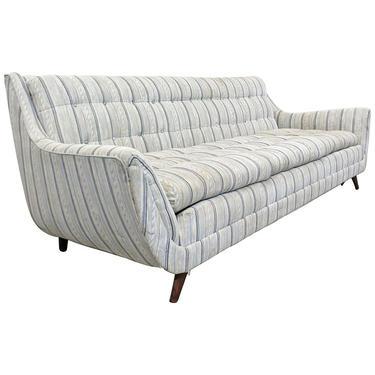 Mid-Century Modern Vintage Sofa Kroehler Style / Adrian Pearsall Style Sofa on Splayed Legs, Danish Modern Sofa by AnnexMarketplace