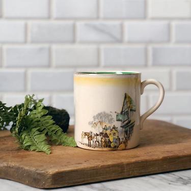 English Country Antique Ironstone Mug by AnticaMarket