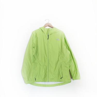 Lime Green North Face Shell Jacket by LooseGoods