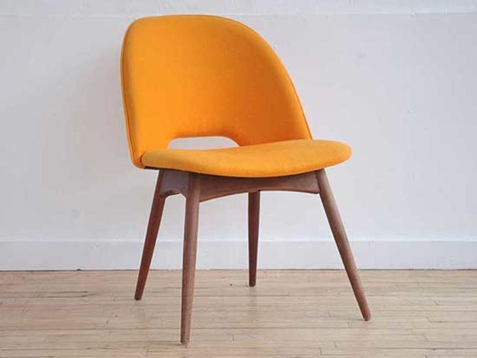 Saarinen Style Executive Side Chair