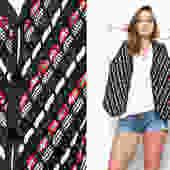 """Vest Ribbon Weave Festival Layering Piece Draped Top Black Cotton Festival Waistcoat Vintage 80s 90s L LARGE (22"""" Width) by shoprabbithole"""