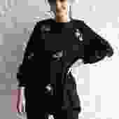 Cynthia Rowley Embellished Tunic Size XS