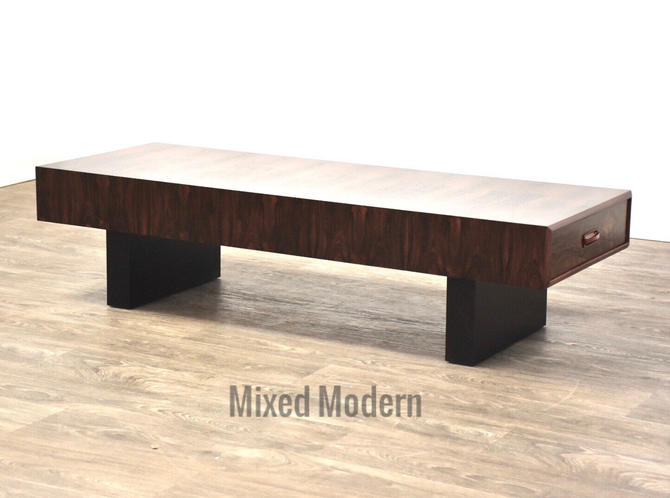 Brazilian Rosewood Coffee Table by mixedmodern1