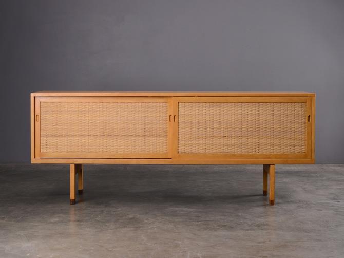 Rare Hans Wegner 6.5ft Oak Sideboard Credenza Danish Modern by MadsenModern