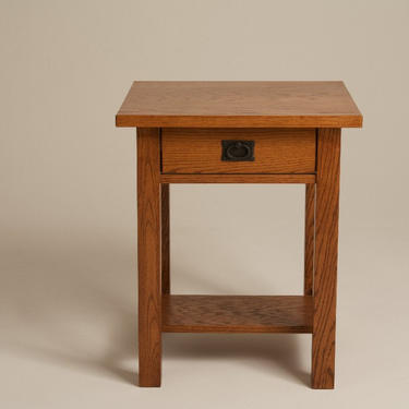 Mission Arts & Crafts Stickley style Nightstand Bed Side End Table by DaleMartinFurniture