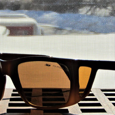 Vintage Bolle Sport Sunglasses With Side Shields C. Brown Fade Frames Bolle by ArtloversFinds