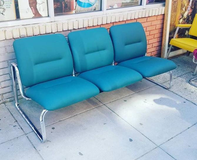 Mod Chrome Sofa, $235.