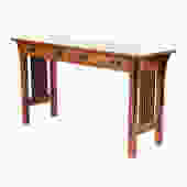 L & G Stickley Mission Style Sofa Table