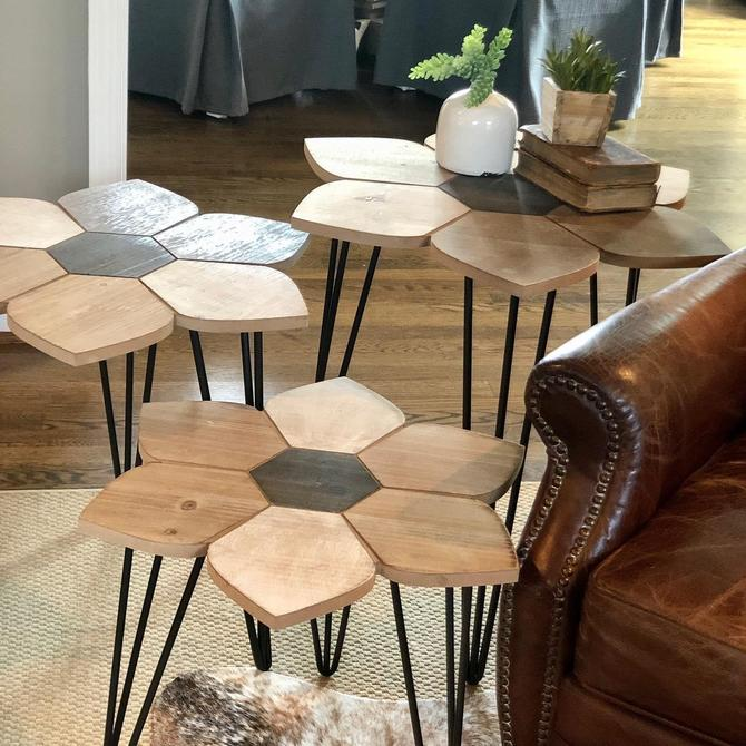 Stylish Wood Side Tables