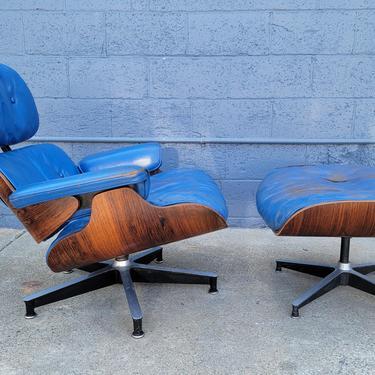 Early Eames 670671 Lounge Chair & Ottoman by JanakosAndCompany