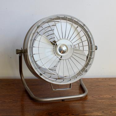 Retro, Rustic, Mid Century Rotary Fan, Table Fan, MCM, Farm House, French Provincial, Antique, Sears, Shabby Chic, by FORAGEmodernhome