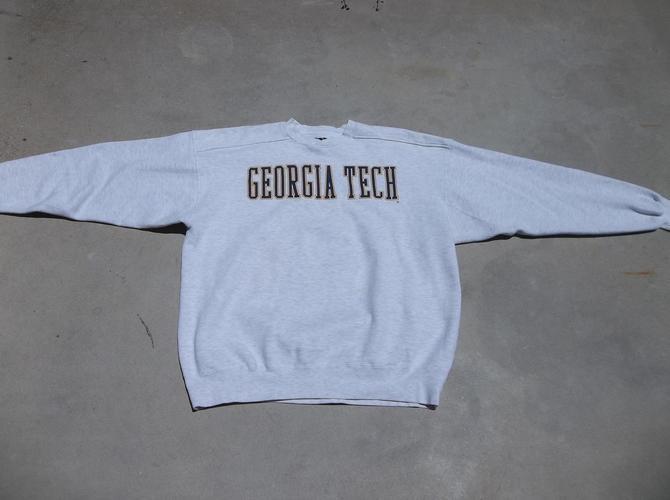 Vintage Sweatshirt UCSD University of California San Diego 1990s XL Logo Distress Preppy Grunge Crewneck Unique Collectors by RetroVintageClothing