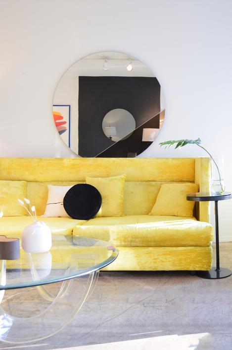 Adrian Pearsall for Craft Associates Tuxedo Sofa