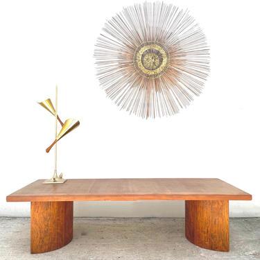 Kroehker Curved Base Coffee Table