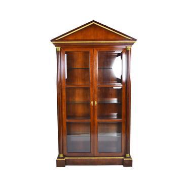 Fine Vintage Baker Furniture Neoclassical Empire Style Curio China Cabinet by PrairielandArt