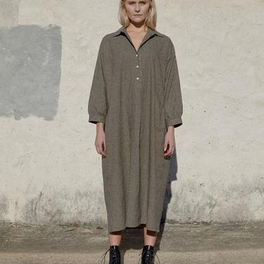 HAZEL DRESS - CEDAR GINGHAM - XS/S