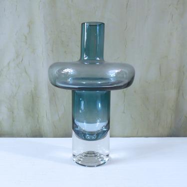 Nanny Still Paraati / Parade Vase for Riihimaki Riihimäen Lasi, Finland - Art Glass Hooped Vase by MostlyMidModern