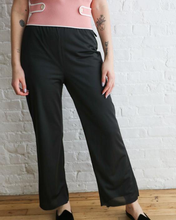 Maison Martin Margiela Wide-Leg Trousers, Size 44