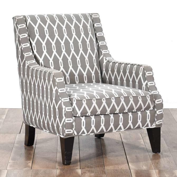 Contemporary Dorsey Mocha Armchair