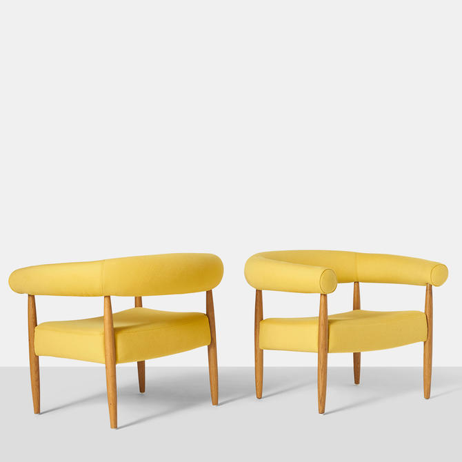 "Pair of ""Ring"" Chairs by Nanna Ditzel"