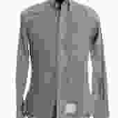 Thom Browne Grey Check Shirt