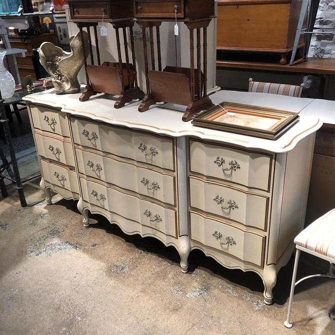 Faux French triple Dresser $495