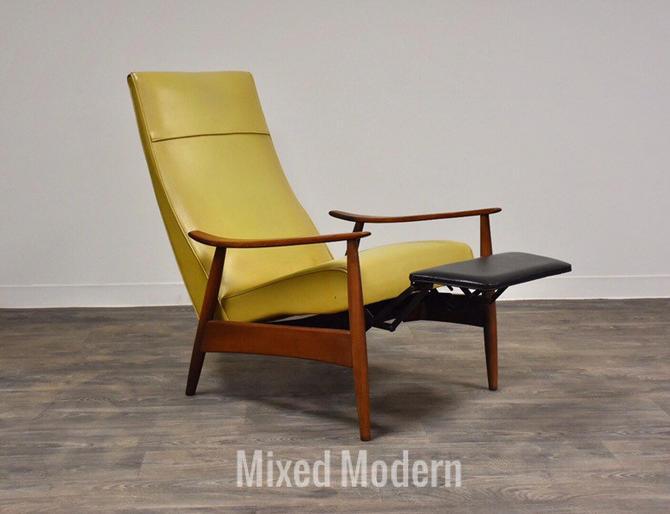 Milo Baughman Reclining Lounge Chair by mixedmodern1