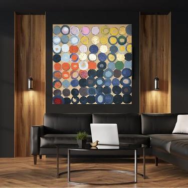 CUSTOM ART for Ingrid Canvas Painting Minimal Wall Art, Modern Home Decor, Abstract Minimalist Modern Original Contemporary Artwork by ArtbyDinaD