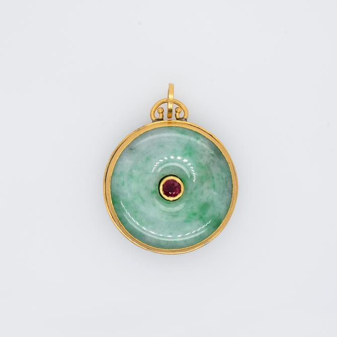 Ruby & Jade Love Duality Medallion